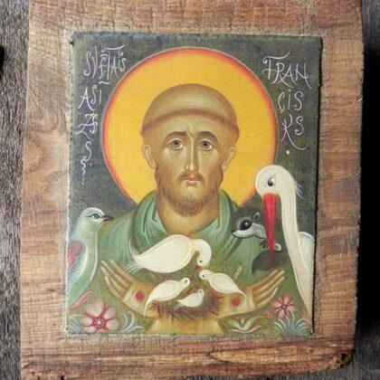 Sv.Francisks. 19x15,5cm
