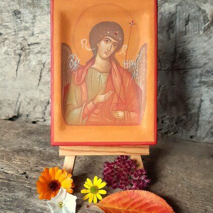 Erceņģelis Mihaēls. 10,5x7,5cm