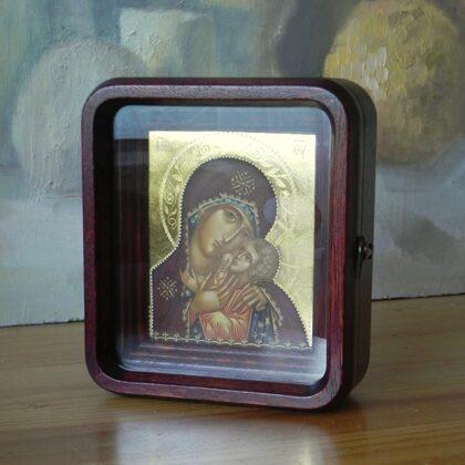 Korsuņas Dievmātes ikona. 11x9cm