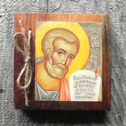 Sv.Apustulis Pēteris. 13x13cm