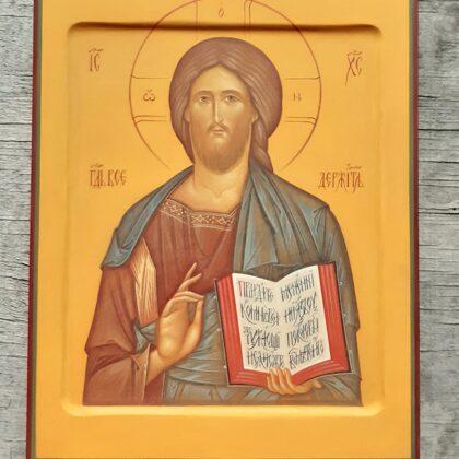 Kristus Visavaldītājs. 28x22cm
