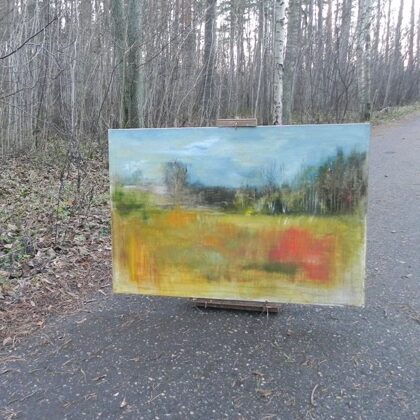 painting in nature