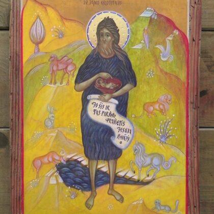 Sv.Jānis Kristītājs 22x16,5cm