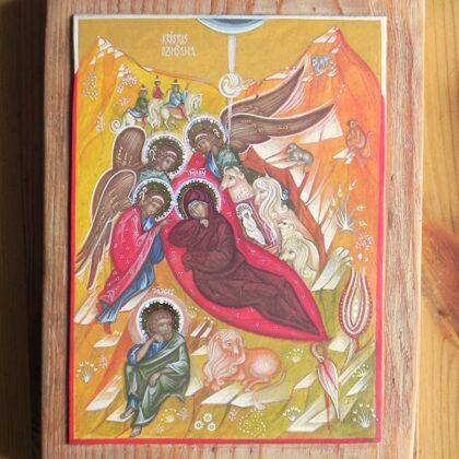 Kristus Piedzimšana 22x16,5cm