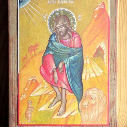 Kristus Kārdināšana 22x16,5cm