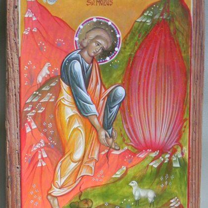Sv.Mozus 22x16,5cm